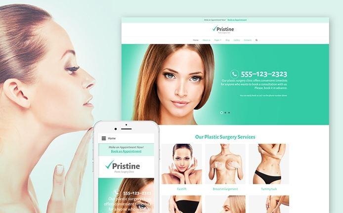Plastic surgery - một mẫu theme Joomla đẹp và chuyên nghiệp trong lĩnh vực thẩm mỹ, y tế