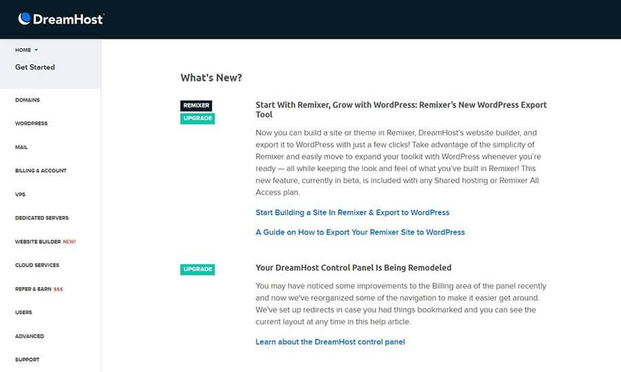Hướng dẫn sử dụng Joomla cơ bản từ DreamHost